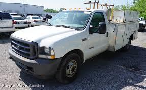 2004 Ford F350 Super Duty XL utility bed pickup truck | Item...