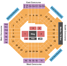 Boxing Seating Chart Barclays Center Boxing Tickets