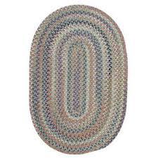 oval braided area rug