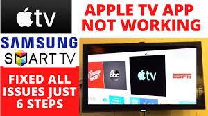 How To Fix Apple TV App Not Working on Samsung Smart TV || Top 10 Most  Powerful Fixes - YouTube