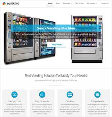 Vending Machine Website Fascinating 48 Best Machinery WordPress Themes 48 InkThemes
