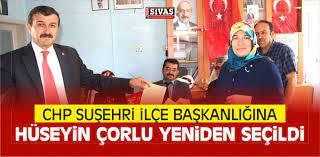 CHP Suşehri ilçe Başkanlığına Hüseyin Çorlu SeçildiBüyük Sivas Haber |  Sivas Haberleri | Haberler
