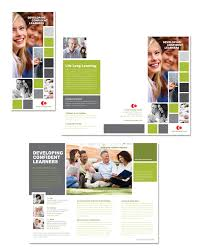 Education Brochure Templates Adult Education Tri Fold Brochure Template