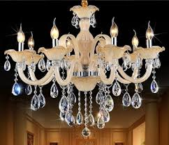 china crystal chandeliers are illuminated with incandescent and candle lights to have yellow tinted illumination in addition they are also using amazing
