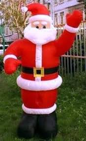 8FT NEW GIANT INFLATABLE SANTA CLAUS 2.4m FATHER CHRISTMAS DECORATION *UK  SELLER*