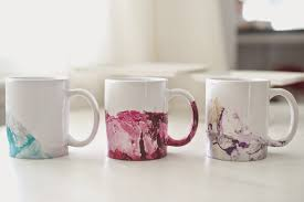 you do not need it to completely dry but just long enough to adhere to the mug so water does not creep underneath this one was dipped three times in about