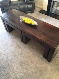 long john mango wood coffee table 3