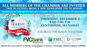 Pw Chamber Holiday Open House At Centerfuse Manassas