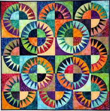 57 best New York Beauty Quilts images on Pinterest | Patchwork ... & Fabulous- an overlapping quilt within a quilt. Find this Pin and more on New  York Beauty ... Adamdwight.com