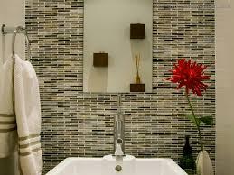 Glass Tile Bathroom Ideas For Long Lasting Beauty Design Vagrant - Glass tile bathrooms