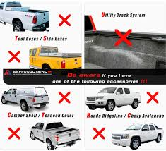 AA Products Universal Truck Ladder Rack with Folding Kayak Roof Rack ...