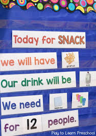 4 Steps To A Smoother Preschool Snack Time