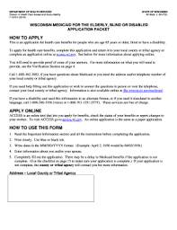Medicare Application Form Templates - Fillable & Printable Samples ...