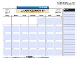 Pdfcalendarpro Free Fillable Calendar 2009 Printable Pdf Template