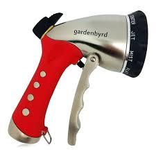 garden hose nozzle costco metal water flexible spray flow control s