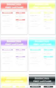 Colorful Resume Templates Amazing Colorful Resume Templates Free Download Socialumco
