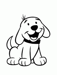 Small Picture Easy Puppy Coloring Pages Coloring Pages