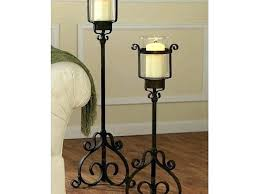 large glass floor candle holders standing australia hurricane metal bathrooms splendid hurric