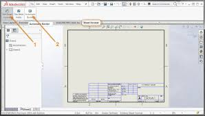 sheet format new features in solidworks 2016 automatic border solidworks