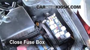 replace a fuse 2004 2006 suzuki verona 2004 suzuki verona lx 6 replace cover secure the cover and test component
