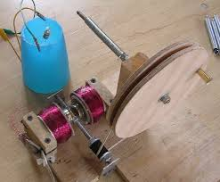 homemade electric generator. Hand Gen Homemade Electric Generator
