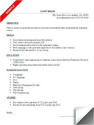 Internship Resume Sample Accounting Intern Resume Fascinating Senior