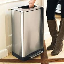 trash trash can with built in manual trash compactor the trash cans for kitchen trash cans trash container for kitchen trash cans