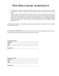 Nda Template Agreement Free Non Disclosure Agreement Template Gtld World Congress