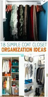 coat closet organization tricks for busy families deep