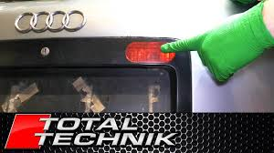 How To Change Rear Fog Light Bulb Avant Audi Rs6 A6 C5 1997 2005 Total Technik