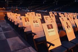 Grammys Seating Chart Tour