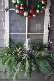 Blumenkasten Weihnachtlich Dekorieren Altes Fenster Deko