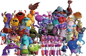 monster inc characters. Modren Inc Monsters Inc Characters By Conthauberger  And Monster Inc