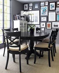 it only seats 6 though avalon 45 black round dining table for o31 for