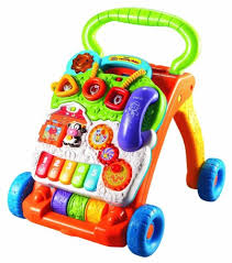 one year old boys walking toys · VTech Sit-to-Stand Learning Walker What Are The Best Toys for 1 Year Old Boys? 30+ 1st Christmas Presents!