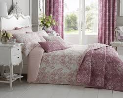 toile fl damask bedding range in pink