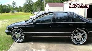 All Chevy 96 chevrolet caprice : Black 94 Chevy Caprice on 26
