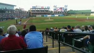 Dell Diamond Stadium Seating Chart Dell Diamond Section 121 Home Of Round Rock Express