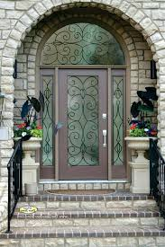 metal glass doors metal front doors for homes with glass house ideas desire and intended metal