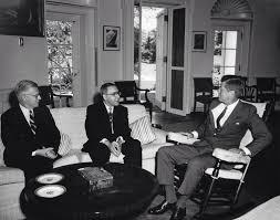 jfk in oval office. JFK Met In The Oval Office With Lebanese Ambassador Nadim Jfk