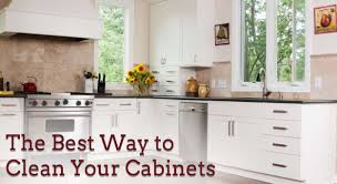 The Best Way to Clean Your Cabinets