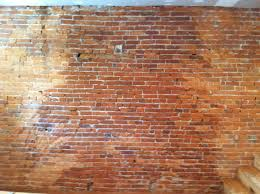 Exposed Brick Wall Diy Our Story About Exposing A Brick Wall Somewhere With You