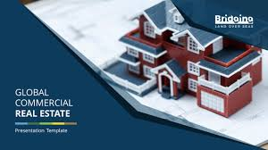 Powerpoint Real Estate Templates Global Commercial Real Estate Premium Powerpoint Template