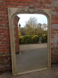 large arched mirror. A Beautiful Large Antique 19th Century French Carved Wood \u0026 Gesso Arched Mirror. Mirror R