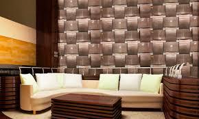 Decorative 3D aluminium wall panel BASKET WEAVE MOZ DESIGNS