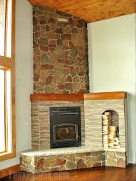 stone veneer for fireplace fireplce dds mountin ideas surround putting over brick