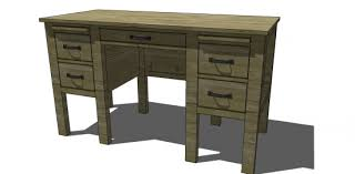 Free DIY Furniture Plans to Build a RH Baby & Child Inspired Finn Desk