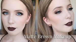 chocolate brown makeup for very pale skin easter inspired tutorial you