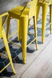 yellow stools furniture. lua nord una cafeteria de londres handmade tiles can be yellow stools furniture n