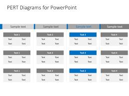 Pert Chart Powerpoint Template 4 Pert Chart Powerpoint